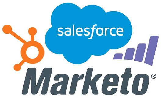 HubSpot, Salesforce, Marketo
