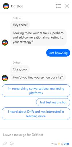 DriftBot Chat