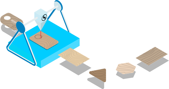Wood Card Illustration 1