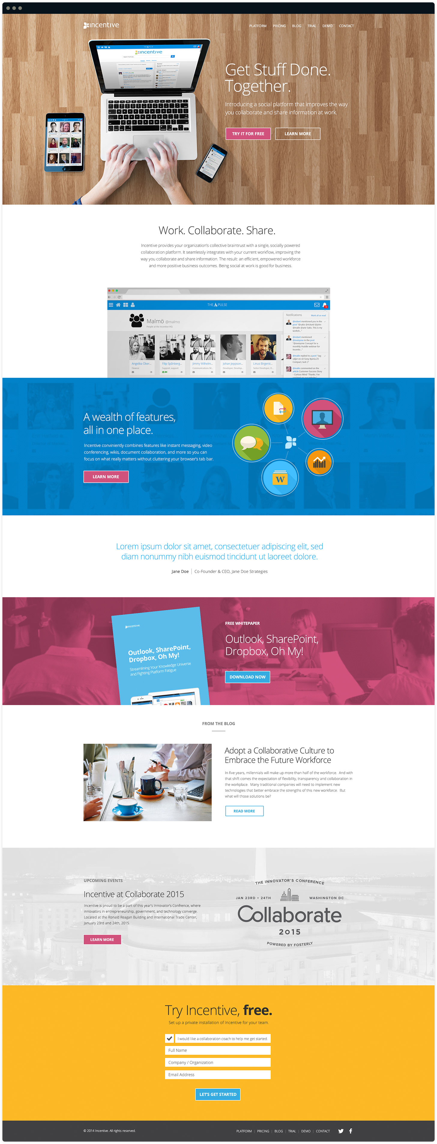 Incentive Website Design by Salted Stone