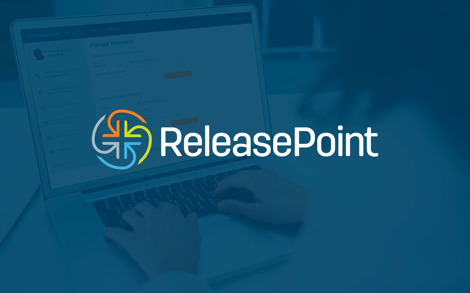 ReleasePoint Branding Logo Design by Salted Stone