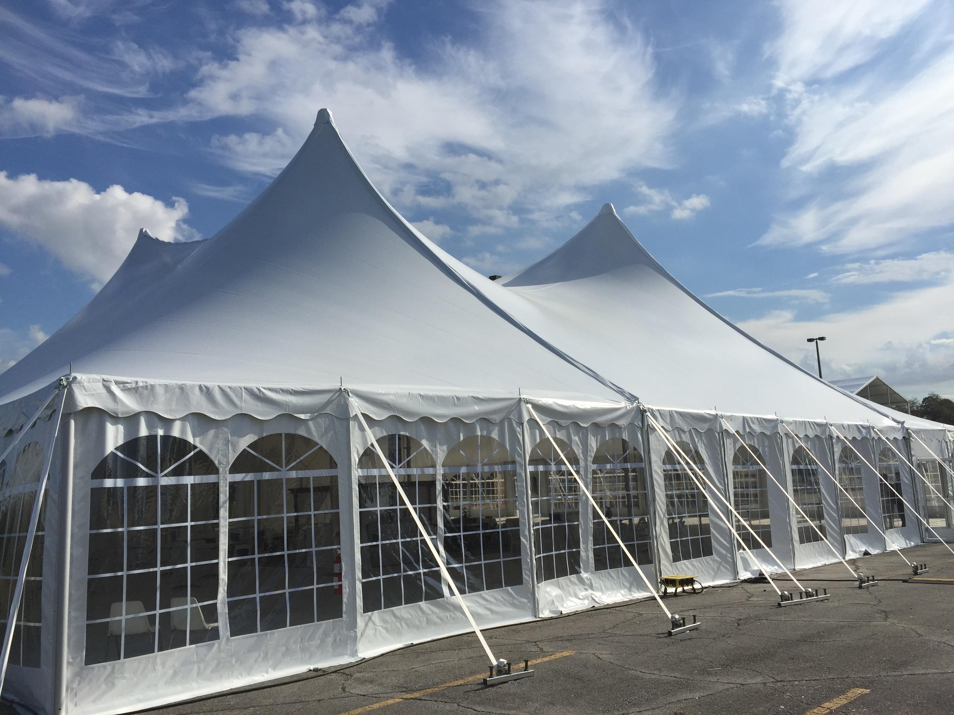 Herculite Tent